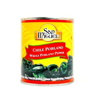 Chiles Poblanos Enteros - 780g